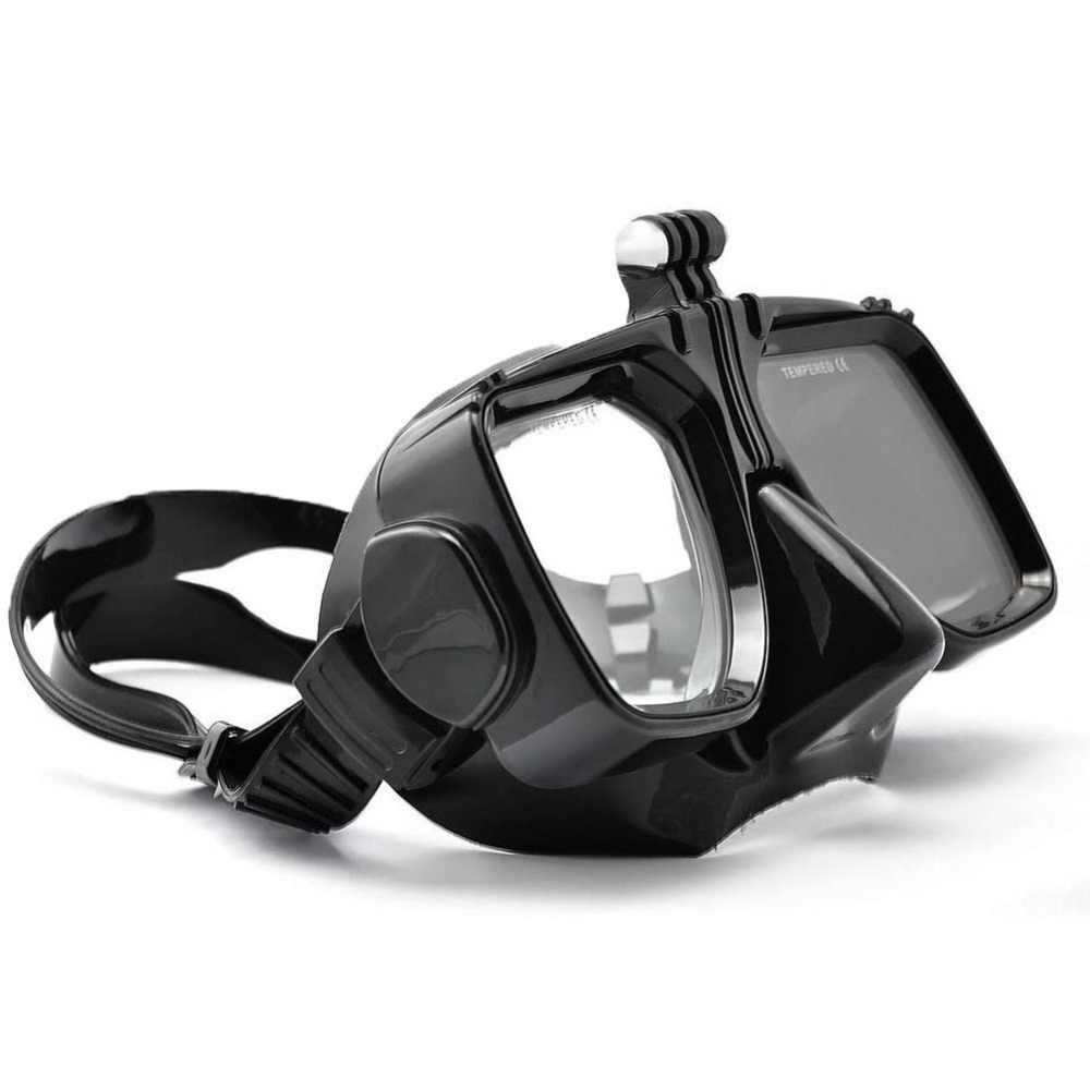 Для Go Pro Аксессуары для дайвинга Gopro Hero7 6 5 4 SJCAM SJ4000/5000/6000 для Xiao yi очки для плавания маска для дайвинга крепление Экшн-камера