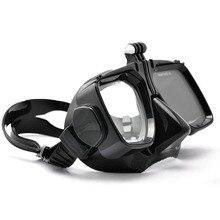 Go pro 다이빙 액세서리 gopro hero7 6 5 4 sjcam sj4000/5000/6000 xiao yi 수영 안경 다이빙 마스크 마운트 액션 카메라