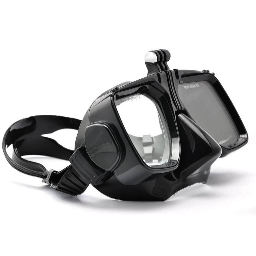 Para Go Pro accesorios de buceo Gopro Hero7 6 5 4 SJCAM SJ4000/5000/6000 para Xiao yi Swim gafas máscara de buceo Cámara de Acción