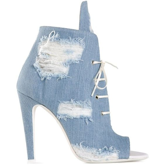 New fashion sky blue denim lace-up short boots sexy open toe cut outs shoes woman high heel ankle boots summer gladiator boots woman beautiful royal blue wedges sandal summer sexy cut outs design charming tassels ankle lace up peep toe female party shoes