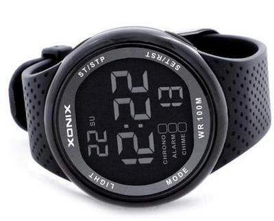 XONIX Men Sports Watches Waterproof 100 m Digital Swimming Diving Wristwatch