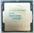 Original del envío libre G4500 SR2HJ Procesador Pentium Dual Core 3.5 GHz LGA 1151 de Escritorio TDP 51 W 3 MB Caché Con HD Graphic14nm CPU