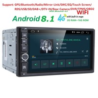 android8.1 car nodvd player universal GPS navigation for x trail Qashqai x trail juke nissan 1024*600 gps car radio video player