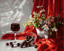 "DIY Painting By Number – Wine (16""x20"" / 40x50cm)"