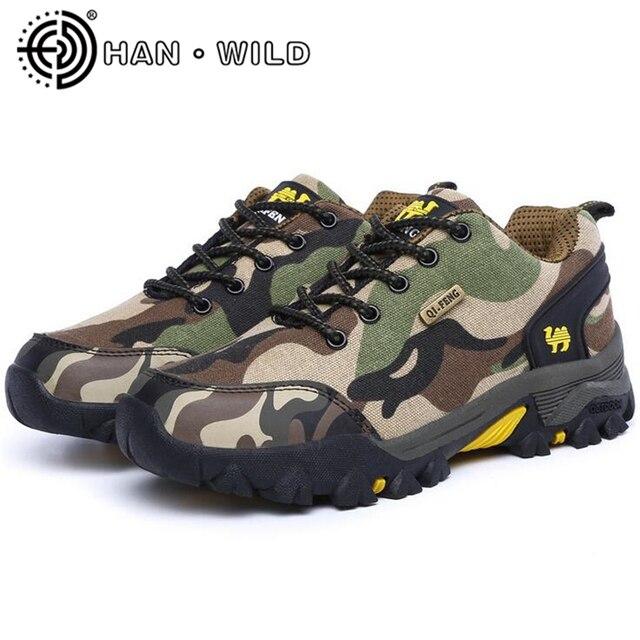 a727434ec3eac Hombres tácticos al aire libre escalada zapatos botas de los hombres del  ocio zapatos para caminar