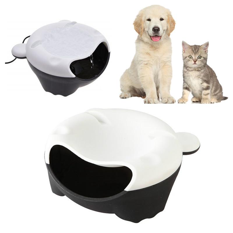 Automatic Pet Dog Cat Water Drinking Fountain Water Cycle Puppy Cat Feeding Bowl Kitten Dog Drinking Water Dispenser Pet Supply