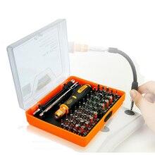 Precision JM 8127 54 in 1 electric Magnetic font b Screwdriver b font multitool repair tool