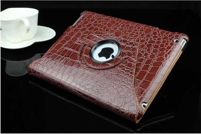 For ipad 234 tablet case Magnetic Smart pu leather Cover for ipad mini1 2 3 ipad mini case with 360 Degrees Rotating Stand sell
