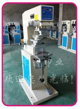 2018 New Pneumatic Sealed Ink Cup Pad Printer Pad Printing Machine 1 color +1 Cliche Plate + 2 Rubber Pads Environment Friendly baterady pneumatic electric pad printing machine spare part ink cup tungsten steel ring odxidxh mm