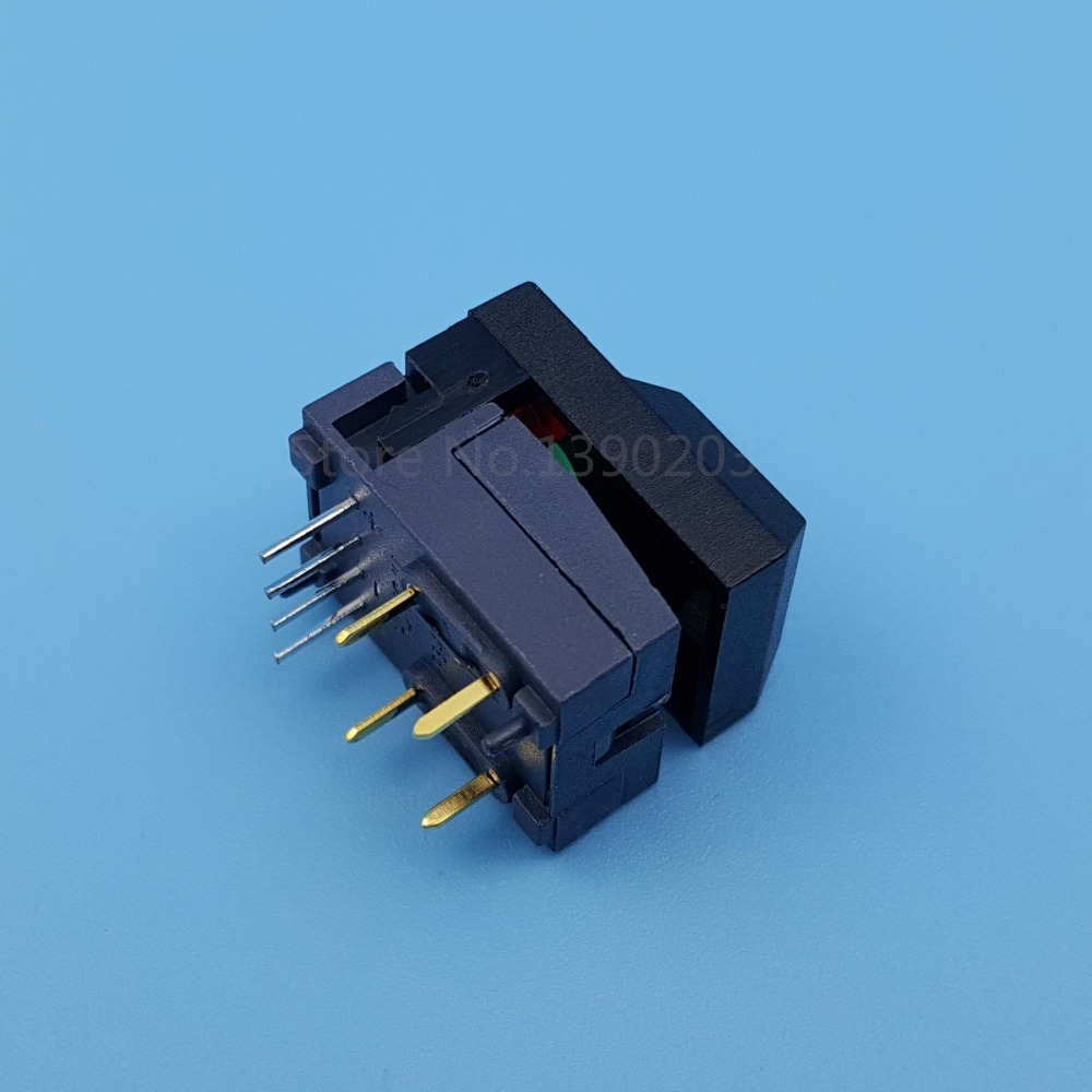 5pcs Hongju Pb86 Black 8pin Momentary Push Button Tact Switch Spdt Wiring With 2 Leds For In Switches From Lights Lighting On Alibaba Group