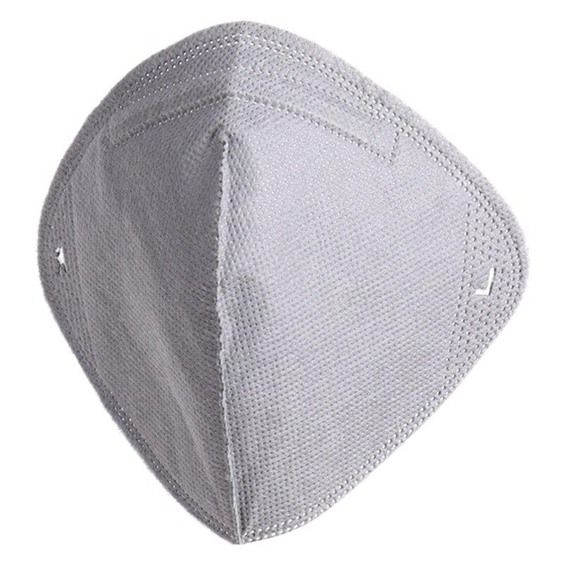 AnalíTico A Prueba De Polvo Pm2.5 En Máscaras De Media Cara Máscara De Filtro De Carbón Activado Para Actividades Al Aire Libre De Lucha Contra La Contaminación Máscara