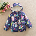 2016 new summer boys Girls Kid Cartoon birdie graffiti thicker  jacket coat  outer clothing baby Clothes Children Clothing 20W