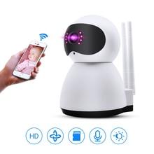 1080P Wireless WiFi IP Camera 355 Degree Two-Way Audio CCTV Camera Home Security Surveillance Night Vision Camera Cloud Storage