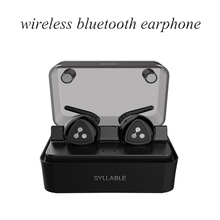 Syllable D900MINI Wireless Bluetooth 4.1 Earphone Stereo Headset Handsfree Mini Earbud with Mic noise cancelling for smart phone