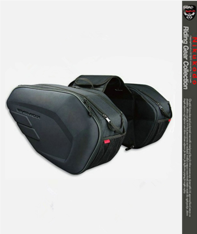 Free shipping 2017 new Oxford cloth motorcycle saddle bag helmet package moto saddle bag + waterproof cover + plastic plate cucyma motorcycle bag waterproof moto bag motorbike saddle bags saddle long distance travel bag oil travel luggage case