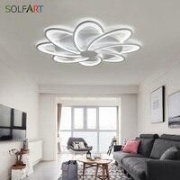 Led Modern Ceiling Light Flower Shape Ceiling Lamp For Living Room Luminarias Avize Ceiling Light Table Lamp