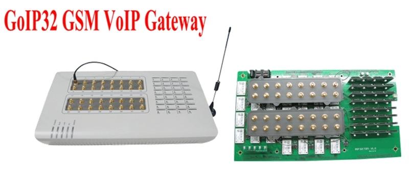 GoIP32 GSM VOIP с 32 SIM порта GoIP32 за IP PBX / - Офис електроника - Снимка 2