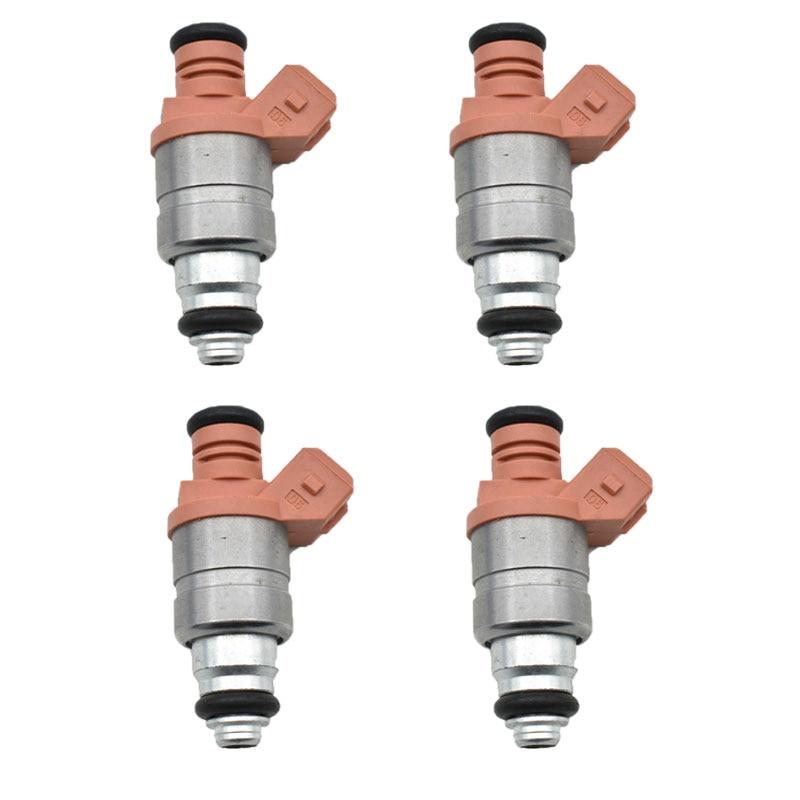 4PCS set Fuel Injector Fits Daewoo Chevrolet Matiz spark 0 8i and 1 0i 98 10