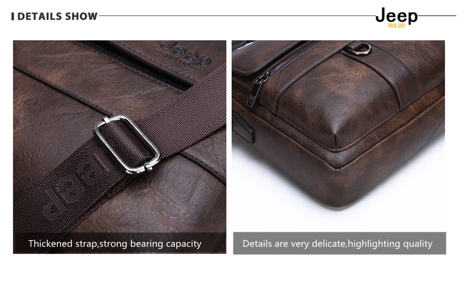 HTB17DhZXRCw3KVjSZFlq6AJkFXaB JEEP BULUO Brand Man Business Briefcase Bag Split Leather High Quality Men office Bags For 14 inch Laptop A4 File Causel Male