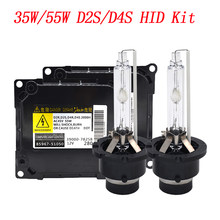 2021 NEW KYSQAIR 55W D2S HID Kit DDLT003 8596751050 35W 4300K 5000K 6000K D2S HID ORIGINAL LIGHT D4S 55W D2R D4R D2 HID Bulb Kit