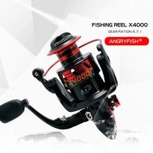 X4000 Spinning Wheel Fishing Reel  8+1 Hand Reel Casting Fishing Lure Fishing Line Tackle Tools