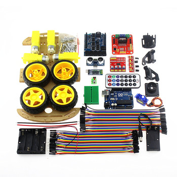 Official Smarian Bluetooth Controlled Robot Car Kits Tons of Published Free Codes UNO R3 MEGA328P For Arduino Robot