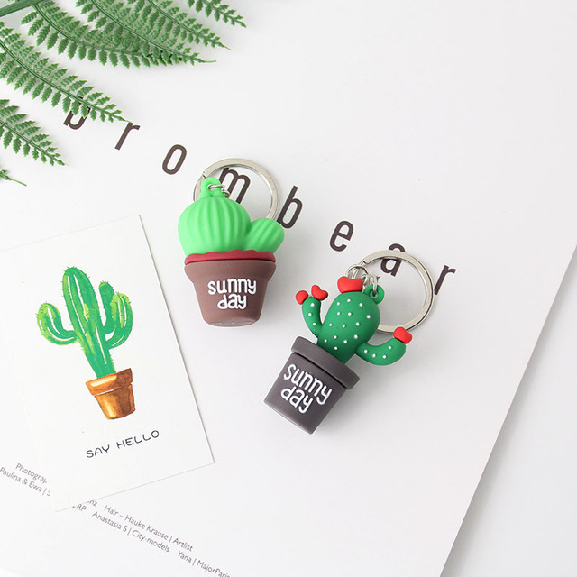 Cactus Keychain 1