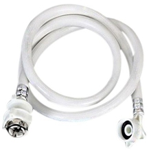 New Brand Washing Machine Inlet Hose Tube Pipe 5M Length White цена