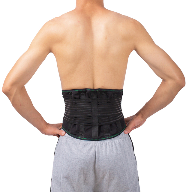Lower Back Lumbar Spinal Spine Waist Brace Support Belt Corset Stabilizer Cincher Tummy Trimmer Trainer Weight Loss Slimming 5