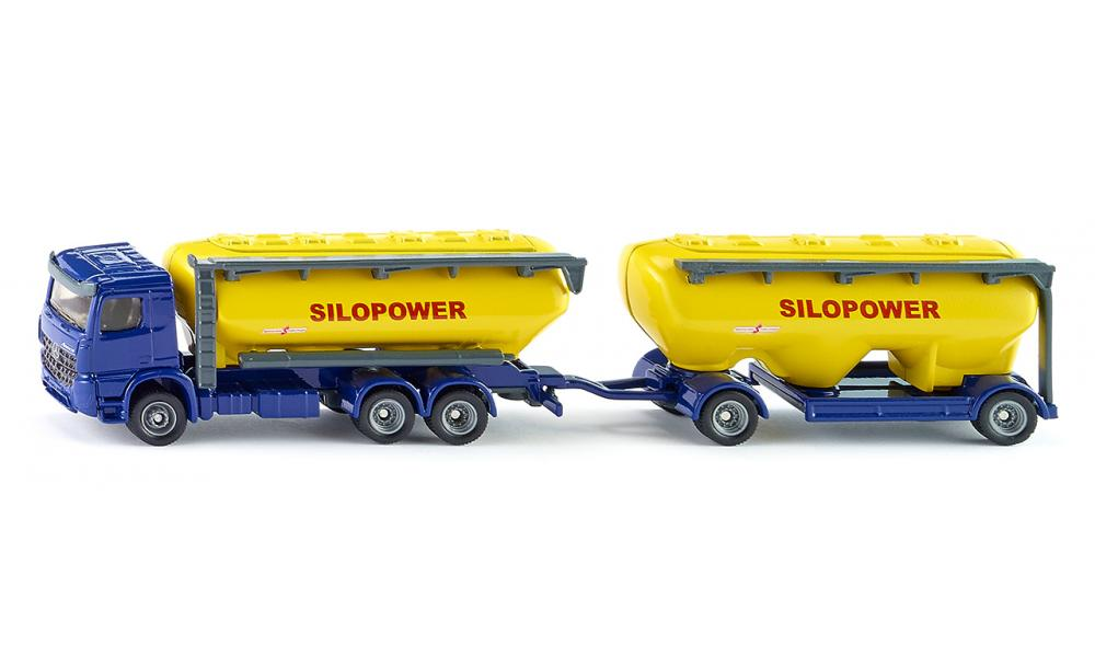 Free shipping Siku 1809 Truck with feedstuff silo Arocs 1 87 bulk alloy metal model car