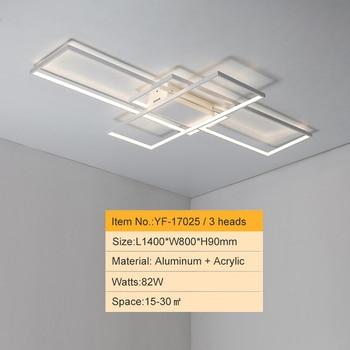 NEO GLeam New Black or White Aluminum Modern Led Chandelier For Living Room Bedroom Study Room AC85-265V Ceiling Chandelier 11