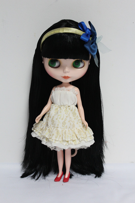 Free Shipping big discount RBL-41DIY Nude Blyth doll birthday gift for girl 4 colour big eyes dolls with beautiful Hair cute toy free shipping big discount rbl 11 15 diy nude blyth doll birthday gift for girl 4 colour big eyes with beautiful hair cute toy