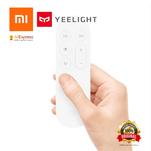 US $10 37 36% OFF|Aliexpress com : Buy Xiaomi Original Yeelight Smart  Ceiling Light Lamp Remote control Be the Master of Light from Reliable  Smart