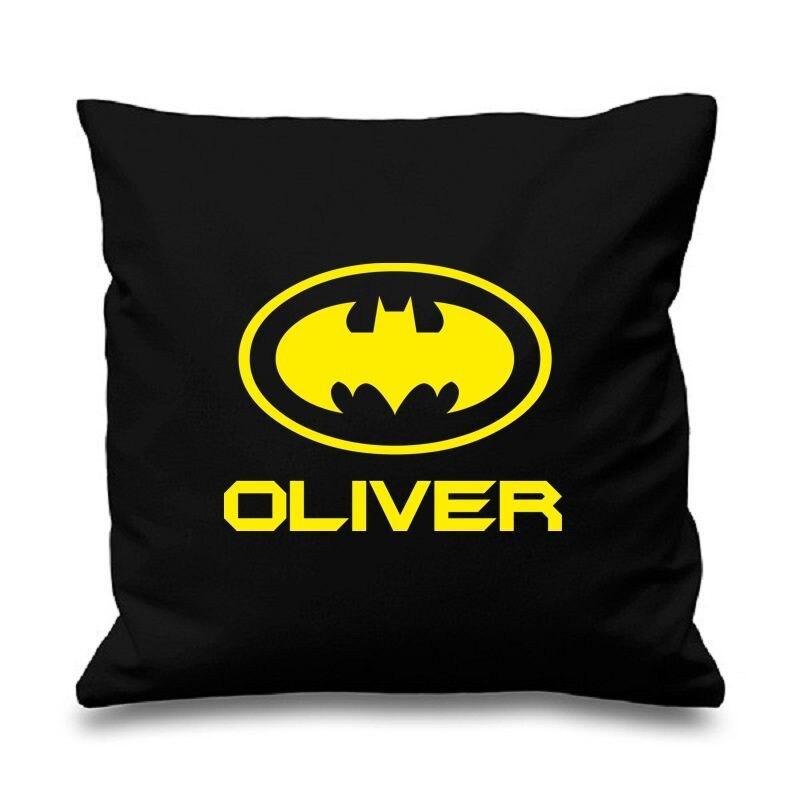 Cool Batman Personalised Gifts Personalized Batman Pillow