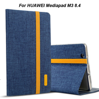 Silicon Cloth PU Leather Case For Huawei MediaPad M3 BTV W09 BTV DL09 8 4 Smart