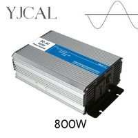Pure Sine Wave Inverter 800W Watt DC 12V To AC 220V Home Power Converter Frequency USB Converter Electric Power Supply