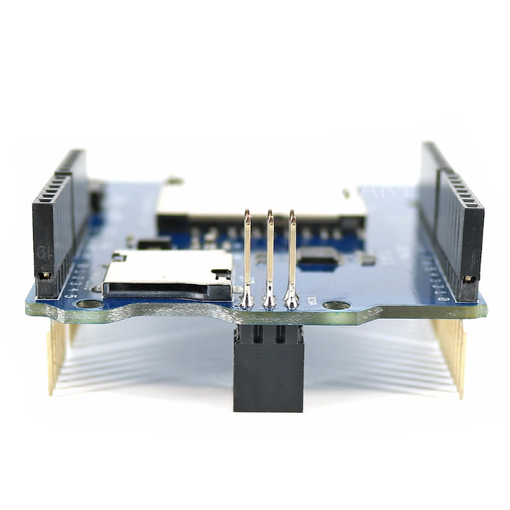SD Card Shield SD Card Read and Write modul Papan Tambahan MicroSD / - Komputer perindustrian dan aksesori - Foto 4