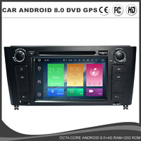 IPS Android 8.0 Car DVD GPS player For BMW E81 E82 E88 120 1Series Radio SD Octa Core 4G RAM 32G ROM DAB DVR Navi USB MAP BT SD