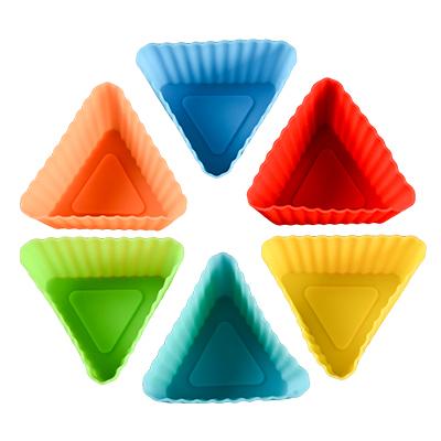 Silicone Cupcake Molds 6 Pcs Set