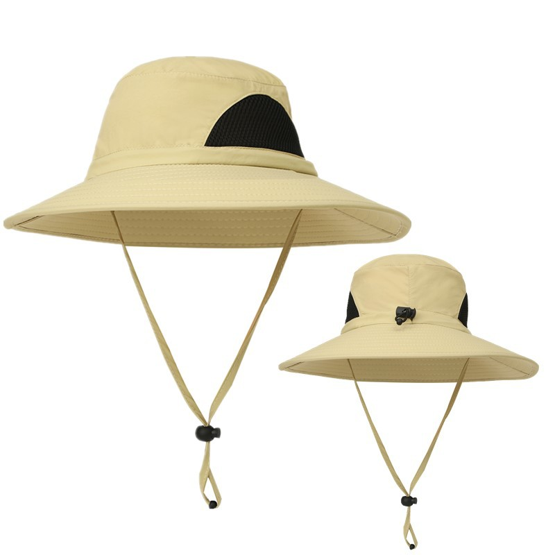 63560a32bb8 new 2018 Outdoor Adjustable Waterproof Sun Hat UV Protection Bucket Mesh  Boonie Cap