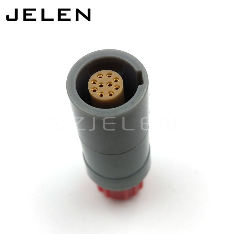 SZJELEN 1p plastic 10 pin plug, PRG.M.10.PLLC39A , Blood oxygen probe, medical connector бордюр serenissima canalgrande battiscopa 6 5x60