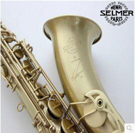 2017 France Hot Selling High Quality Selmer 54 tenor saxophone B Antique Copper Simulation Saksofon Profesjonalny Instrument tenor saxophone instrument new selmer high quality saxophone tenor sax antique copper free shipping saxophone