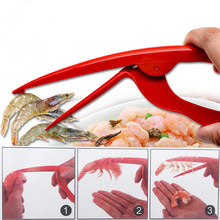 1PC New Practical Peel Shrimp Tool Prawn Peeler Kitchen Gadgets Cooking Seafood Tools OK 0468