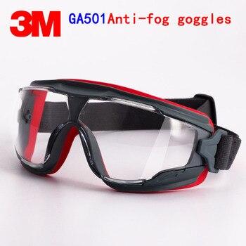 3M GA501 Bril Echte Veiligheid 3M Beschermende Bril Anti-Fog Anti-Shock Rijden Een Sport Arbeid bescherming Airsoft Bril