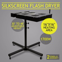 New Flash Dryer Silkscreen T shirt Printing Curing Adjustable Height