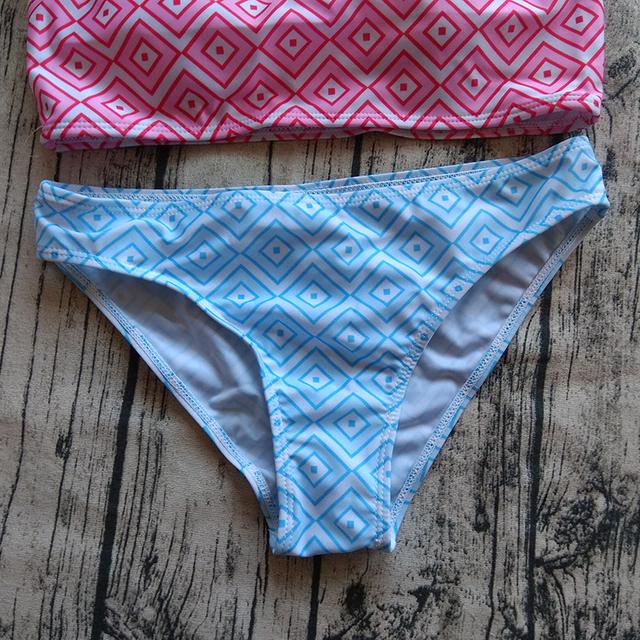Geometry Printed Bikini