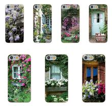 TPU Mobile Phone House With Flowers At Windows For Huawei Honor 5A 5X 6A 6C 6X 7X 9 V8 V10 Mate 7 8 10 P9 P20 Pro Lite Mini Play