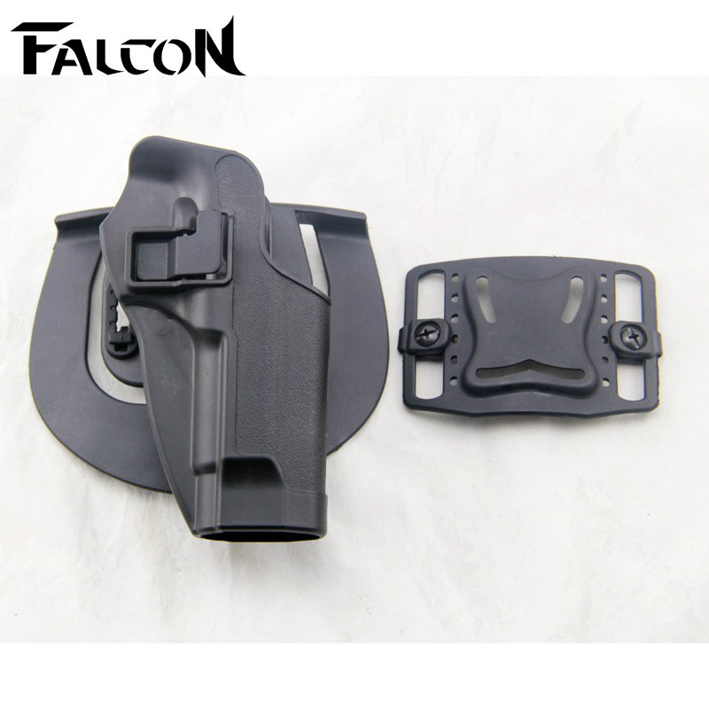 Tactical Military Army Pistol Colt M9 Belt Holster For Hunting Combat Airsoft CS Game War Game Sand Color Gun Belt Holster