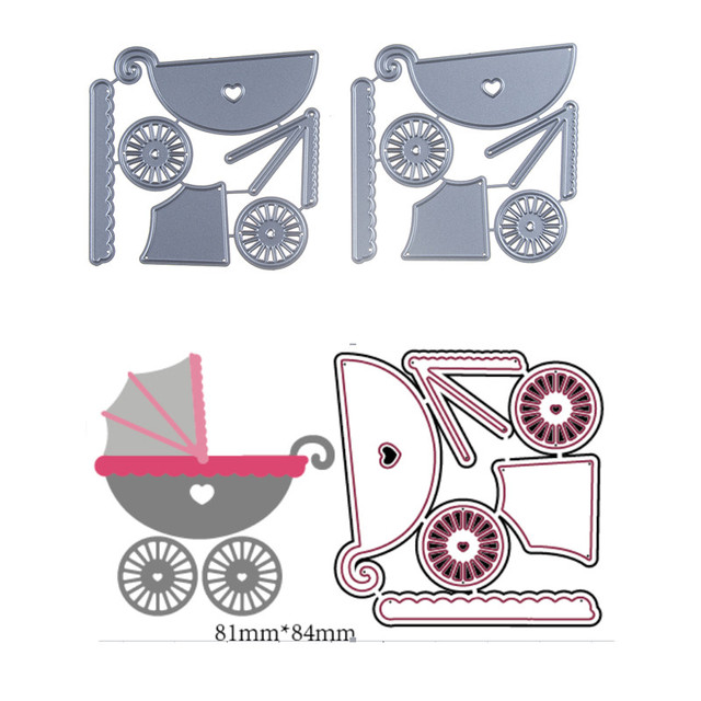 Paper Baby Carriage Templateprintable baby shower gift list template