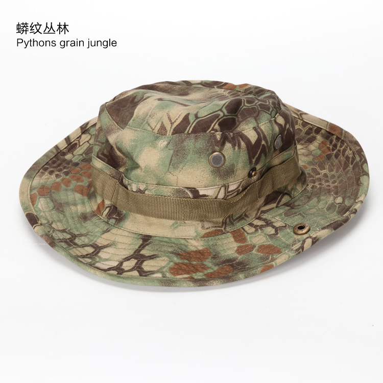 9206a8a72 US $5.85 50% OFF|High Quality Tactical Airsoft Sniper Camouflage Boonie  Hats Men and Women Outdoor Mountaineering Cap Military Hunting Caps-in  Hunting ...